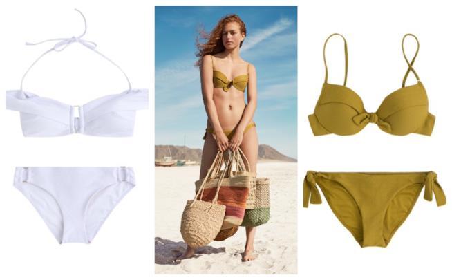 Color block, i bikini di tendenza per l'estate 2018