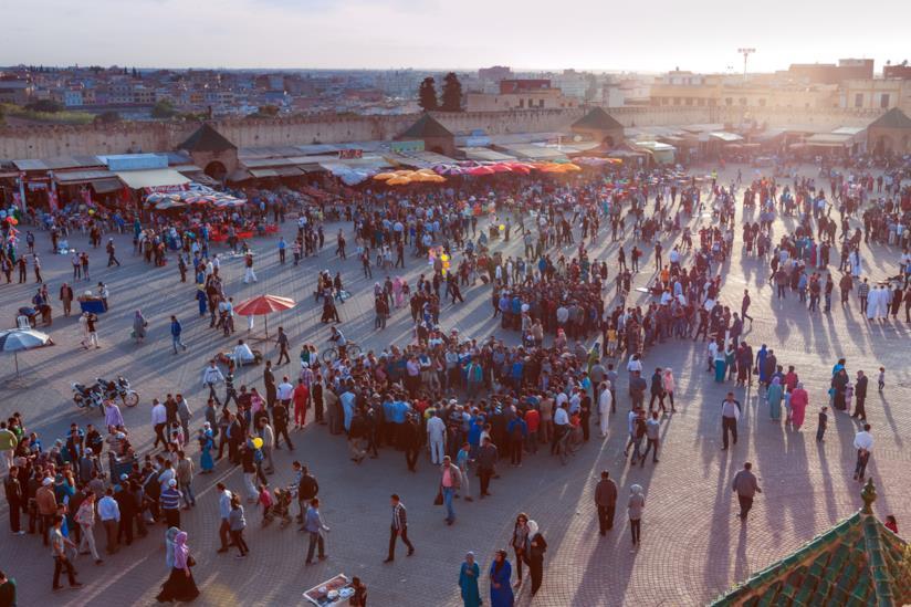 Piazza el-Hedim di Meknès