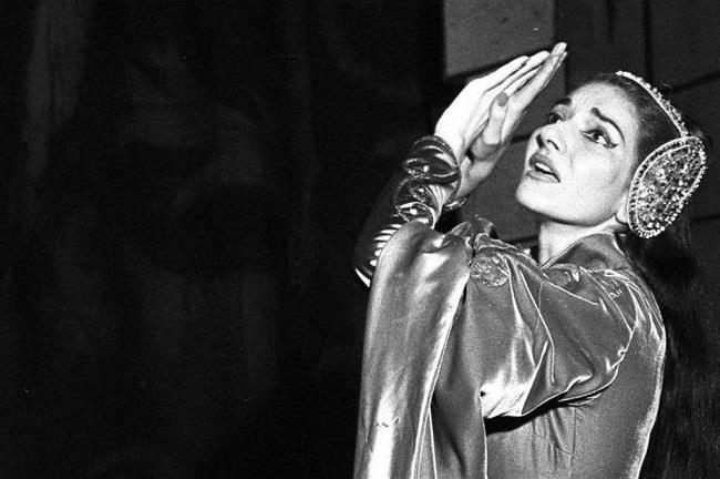 Maria Callas, il grande soprano di origine greche, in mostra a Roma