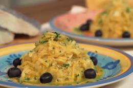 Bacalhau A Braz preparato da Sonia Peronaci