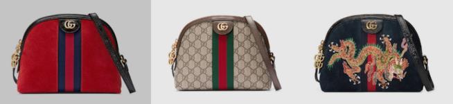 Gucci Ophidia in vari colori