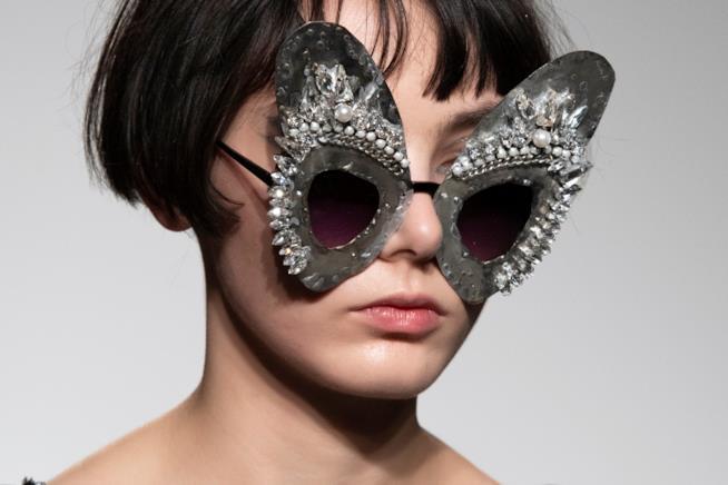 Fashion Week 2019 gli occhiali di Bora Aksu