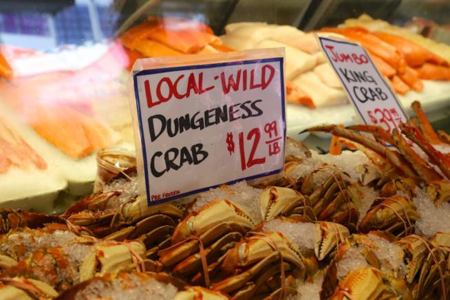 Scorcio del Pike Place Market