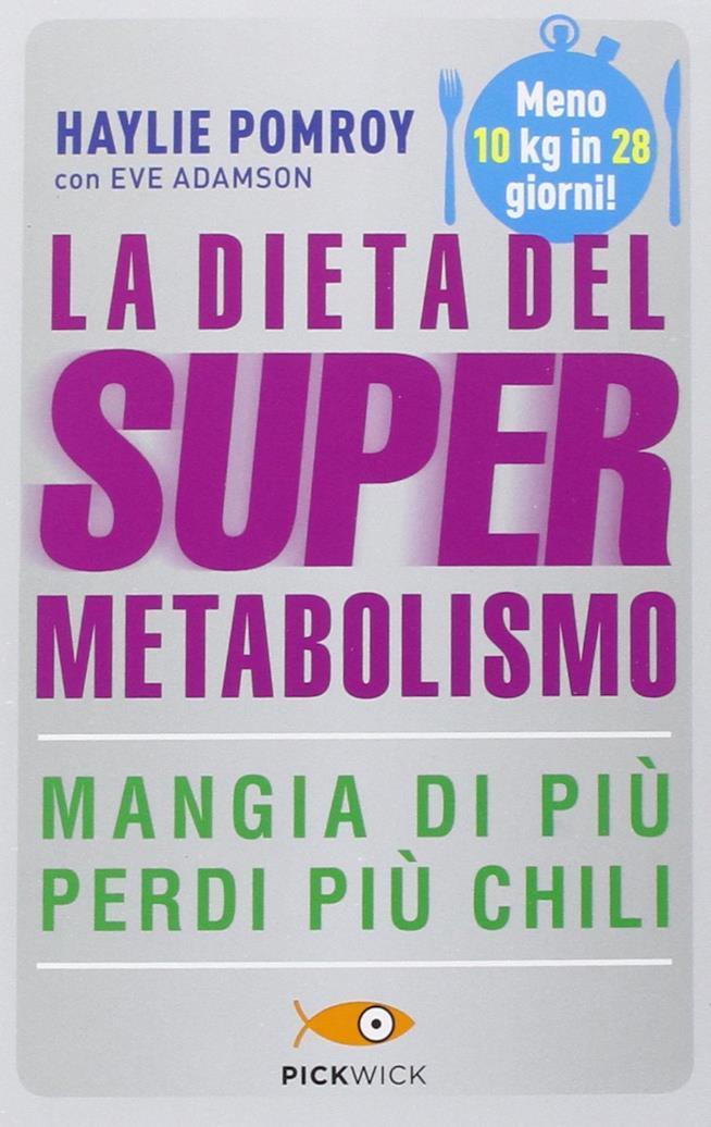 Copertina di La dieta del supermetabolismo