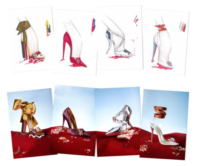 I modelli di scarpe Louboutin a tema Star Wars