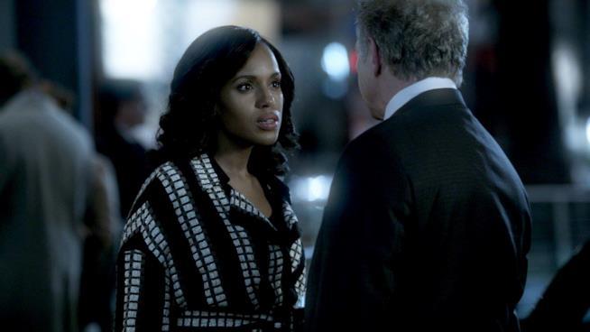 Olivia e Cyrus in una scena di Scandal 6
