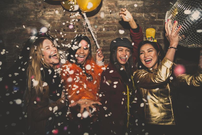 festa di compleanno tra ragazze