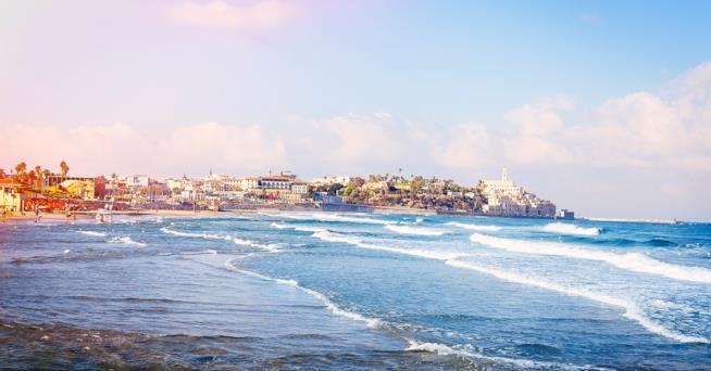 Spiaggia a Tel Aviv