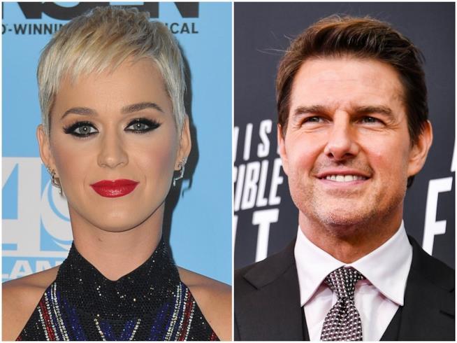 Katy Perry e Tom Cruise