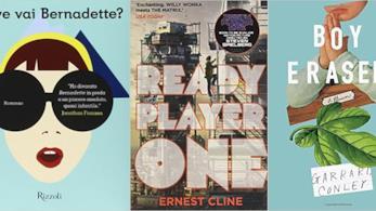 Copertine di alcuni libri che diventeranno film nel 2018