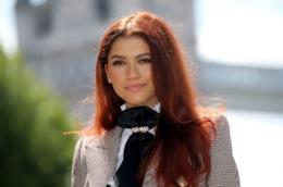 Zendaya con capelli rossi