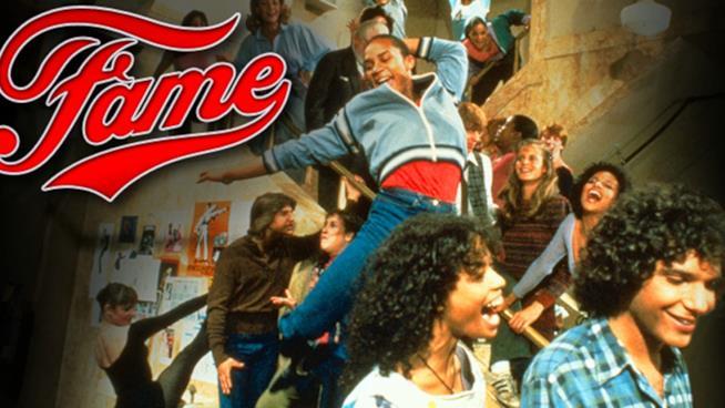 Una scena del film Fame