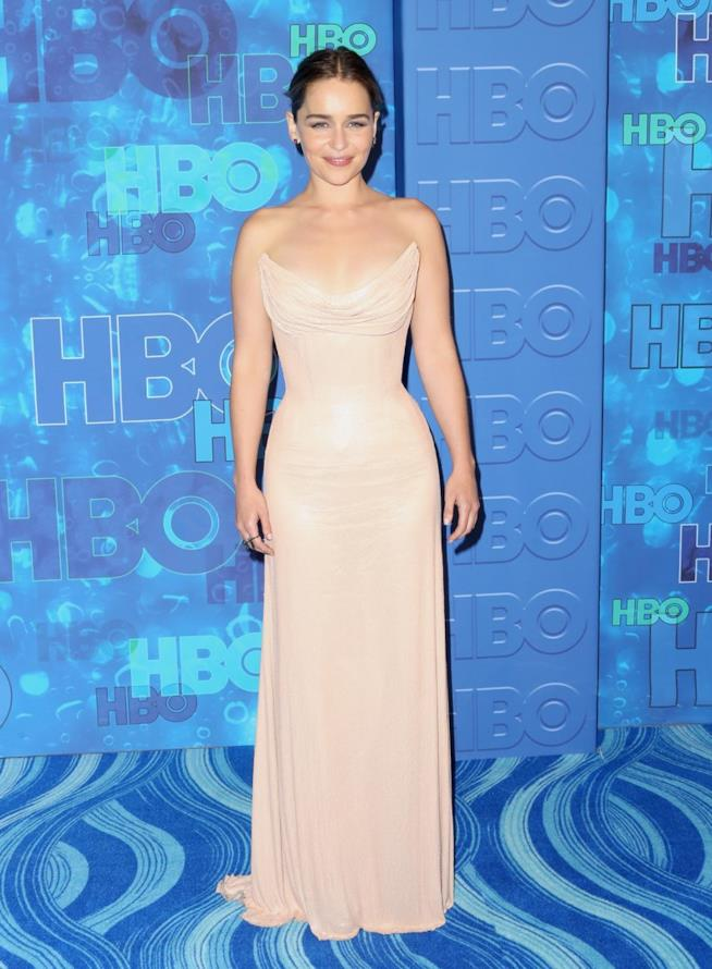 Emilia Clarke agli Emmy 2016