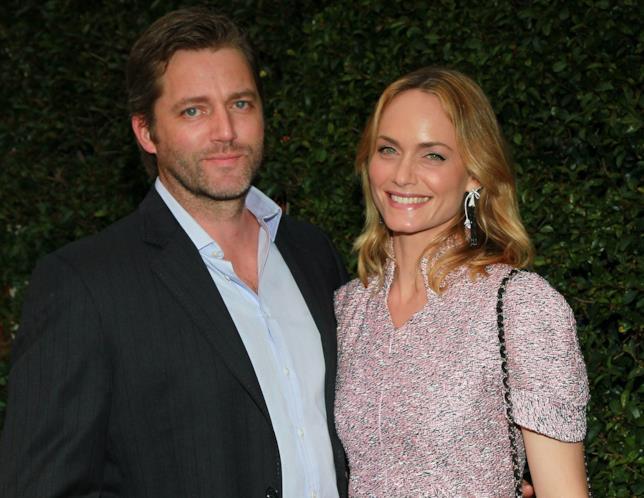 Amber Valletta con il secondo marito Chip McCaw