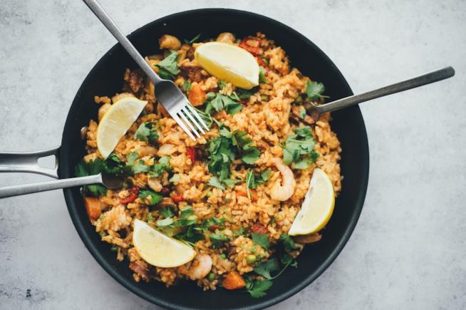 Ricetta riso freddo con verdure