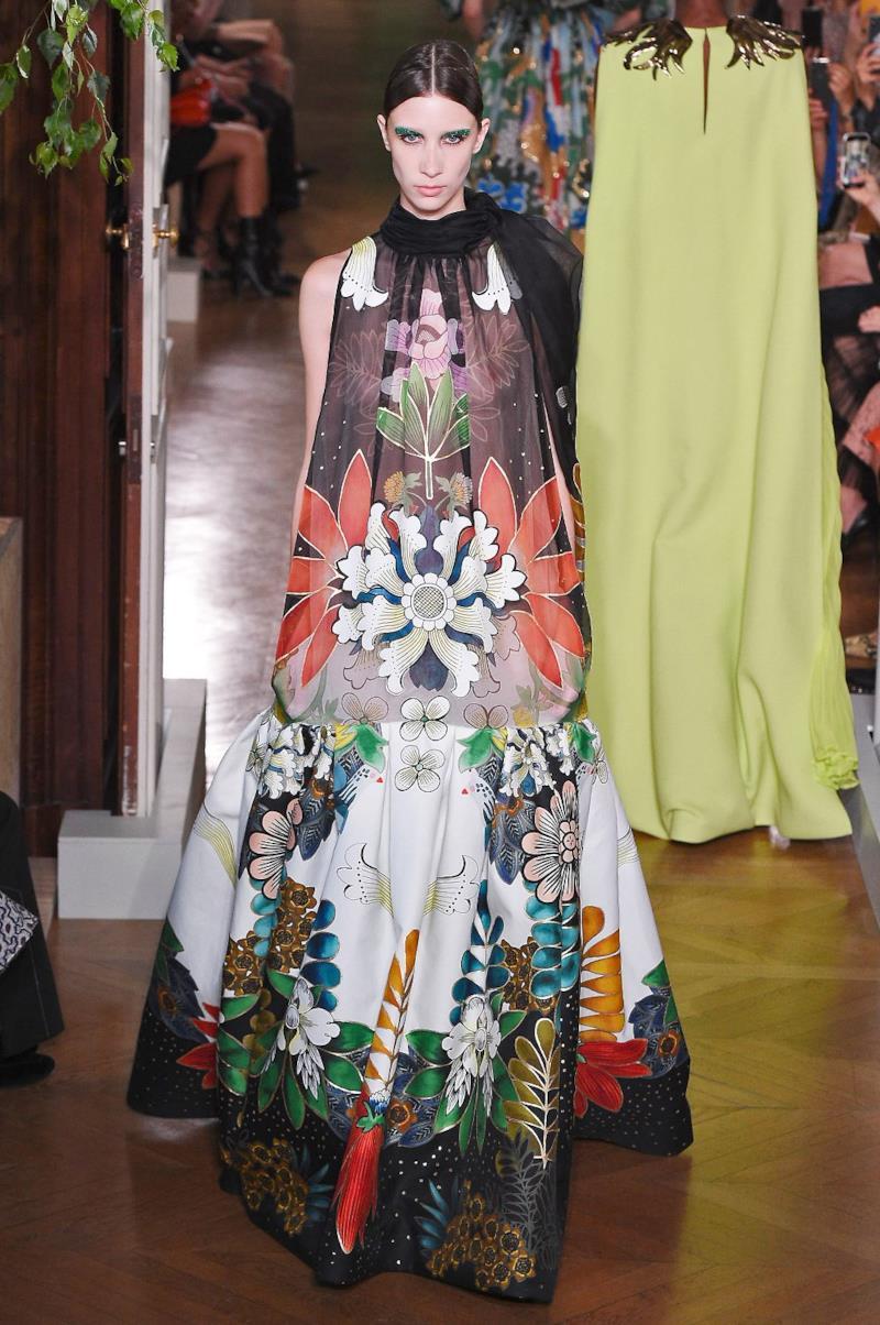 Sfilata VALENTINO Collezione Alta moda Autunno Inverno 19/20 Parigi - ISI_3866