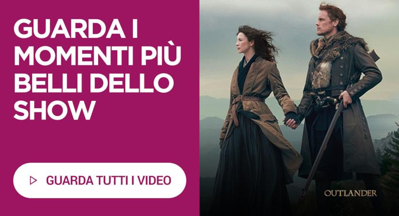 I video in streaming in italiano di Outlander