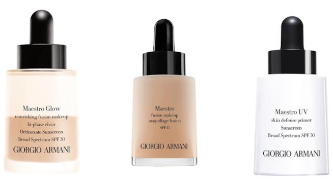 Giorgio Armani Beauty e le basi viso leggere della linea Maestro