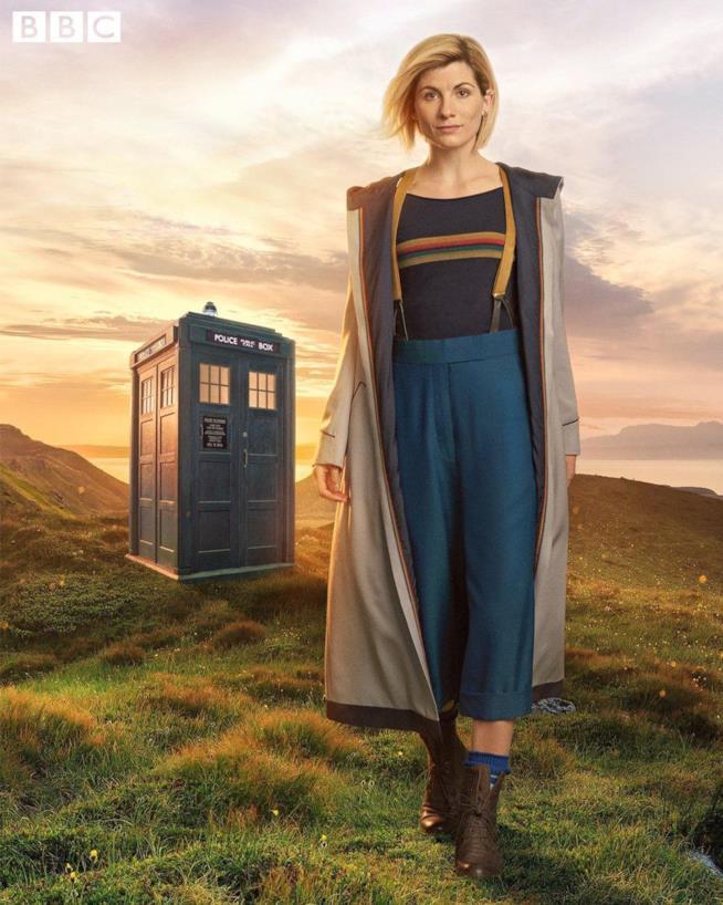 Jodie Whittaker è il nuovo Doctor Who