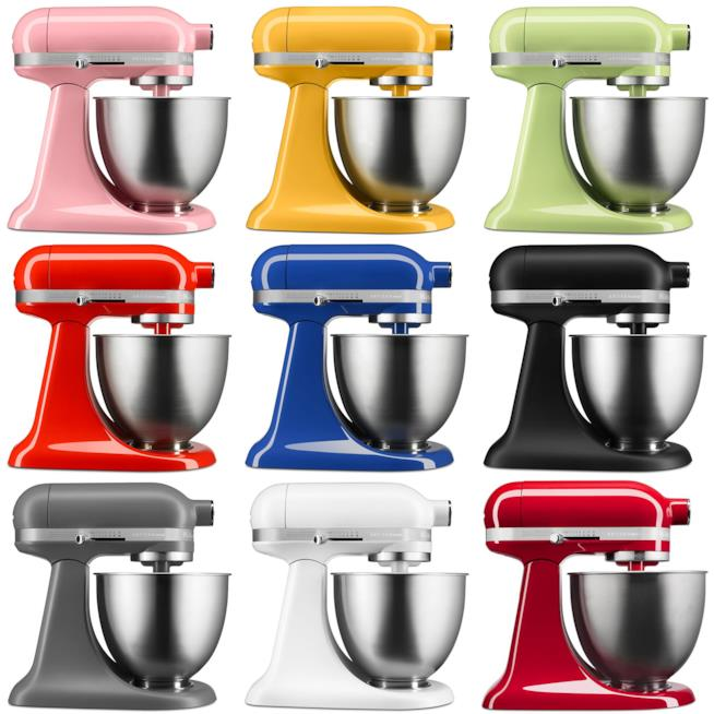 Mini kitchenAid colorate