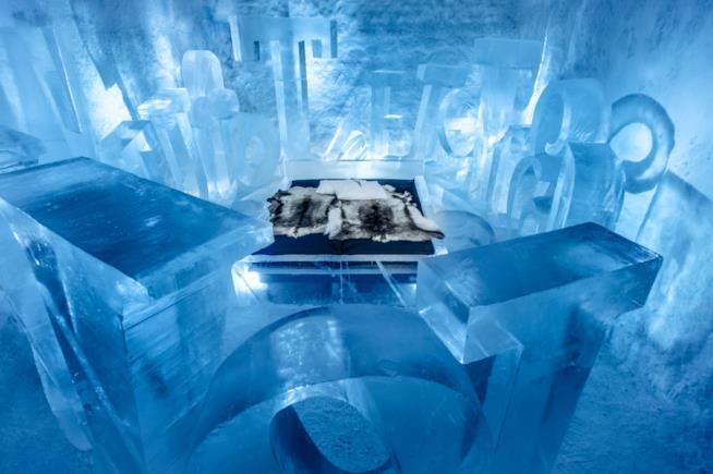 L'Icehotel in Svezia