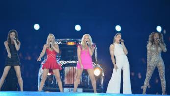Le Spice Girls, durante il loro ultimo concerto