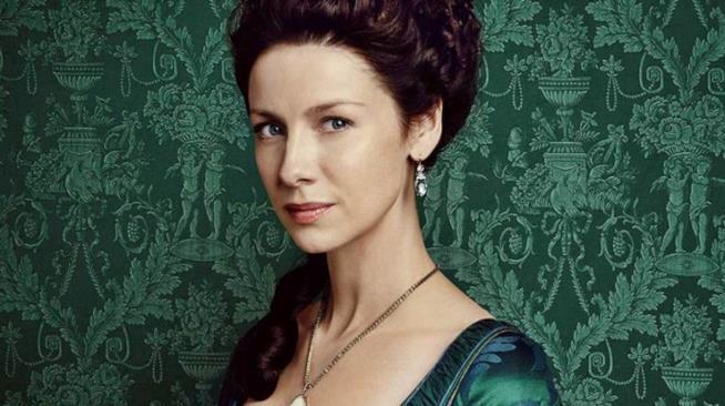 Claire Randalf nell'immagine promozionale di Outlander 2