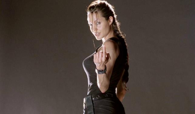 Angelina Jolie interpreta Lara Croft