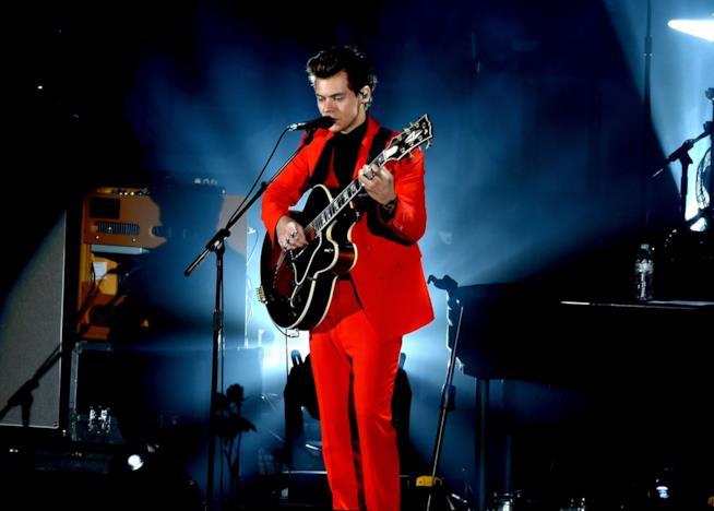 Harry Styles durante un concerto