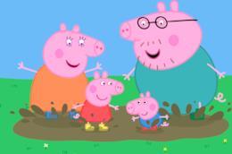 Un'immagine del cartone animato Peppa Pig