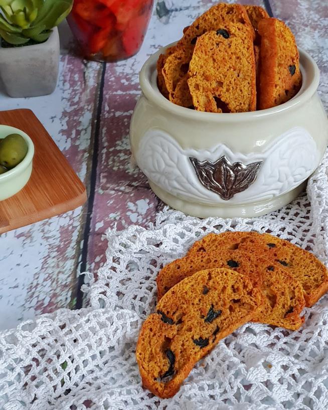 Snack croccanti alla curcuma