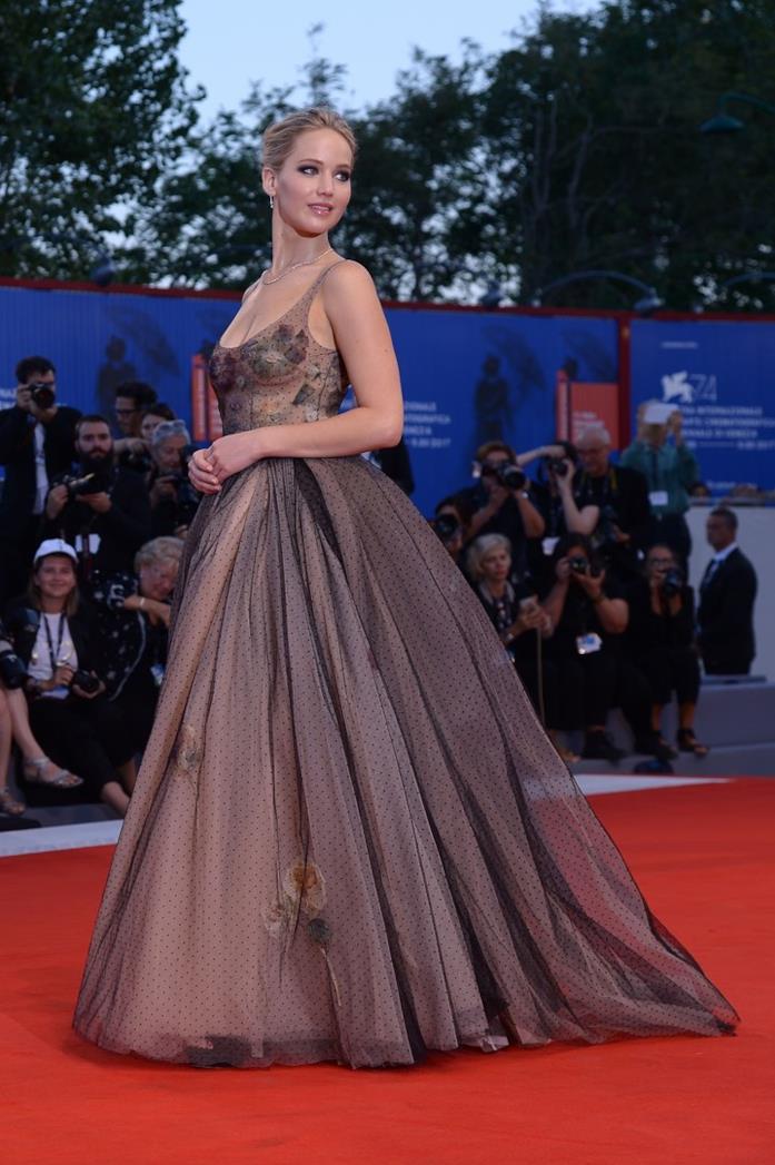 Jennifer Lawrence a Venezia nel 2017