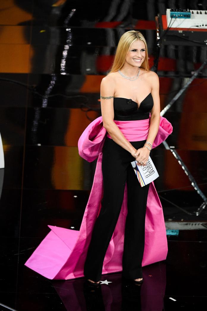 Michelle Hunziker, quarta serata di Sanremo 2018