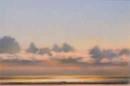 Cielo e nuvole a Punta Corvo (cat. 55), 2006, pastello su carta, 62.5 x 67.5 cm, Galerie Claude Bern