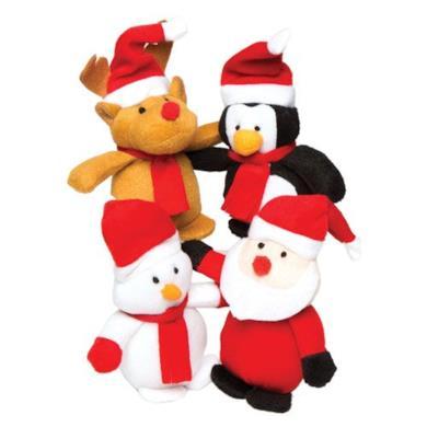 Adorabili mini pupazzi natalizi imbottiti