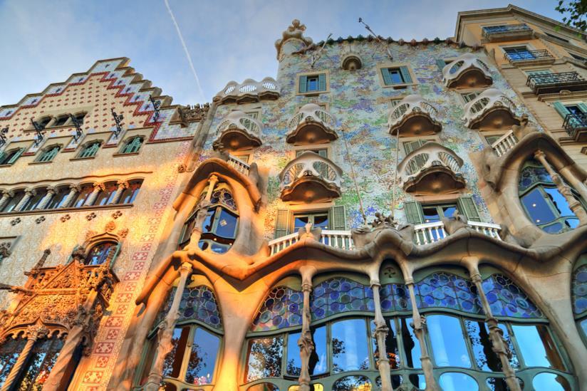 Casa Batlló e Casa Amattler, Passeig de Gracia