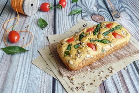 Torta con verdura