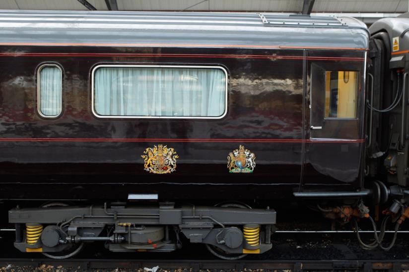 Una carrozza del Royal Train