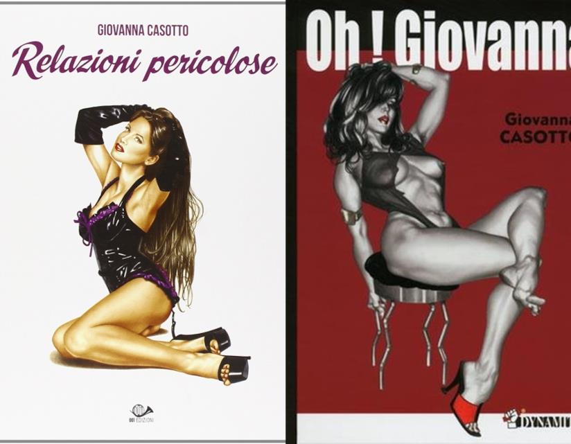 Relazioni Pericolose e Oh Giovanna! libri erotici a fumetti di Giovanna Casotto