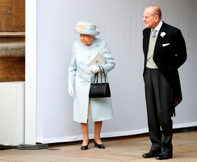 Elisabetta II e il marito Filippo