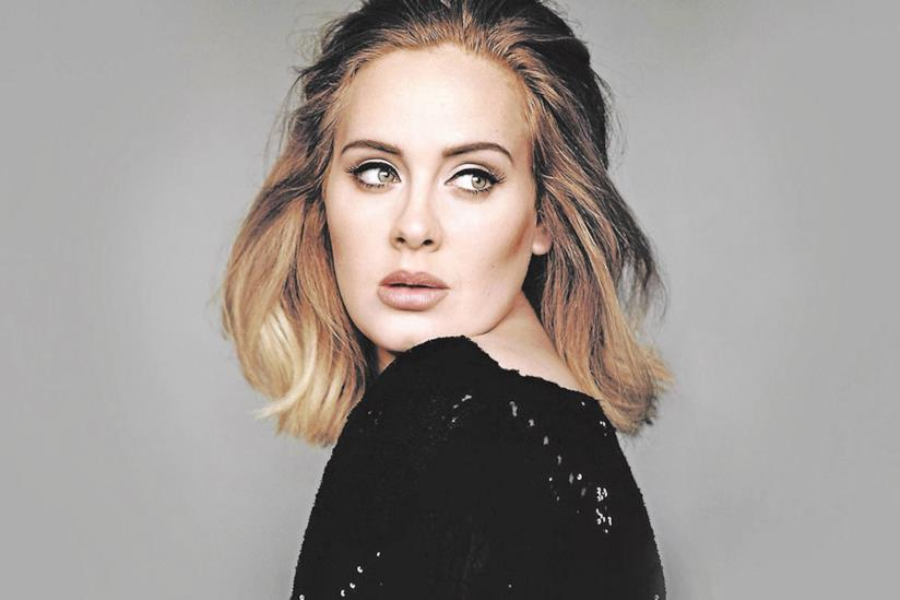 La pop star Adele