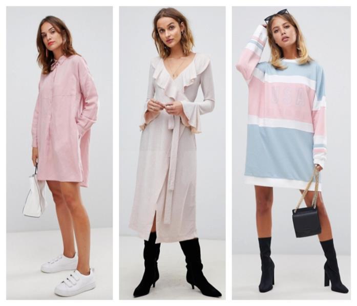 Vestiti colori pastello tendenza autunno 2018