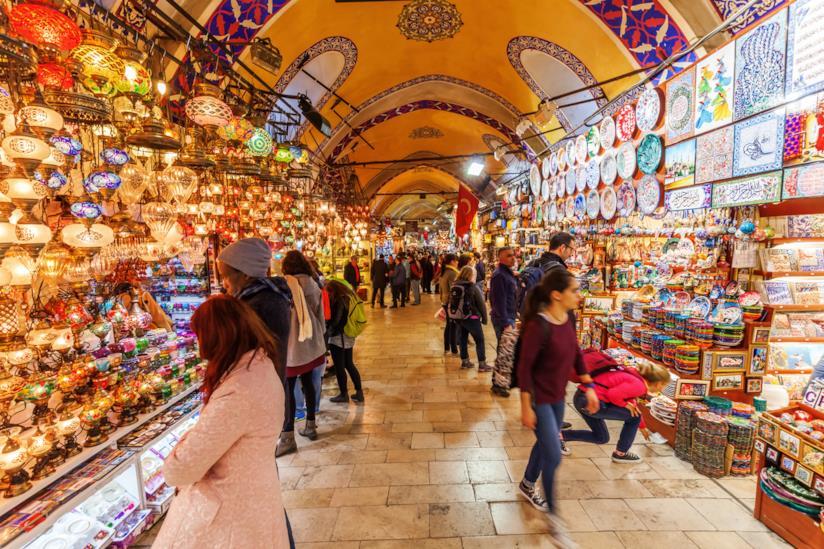 Il mercato più bello di Istanbul: il Gran Bazar