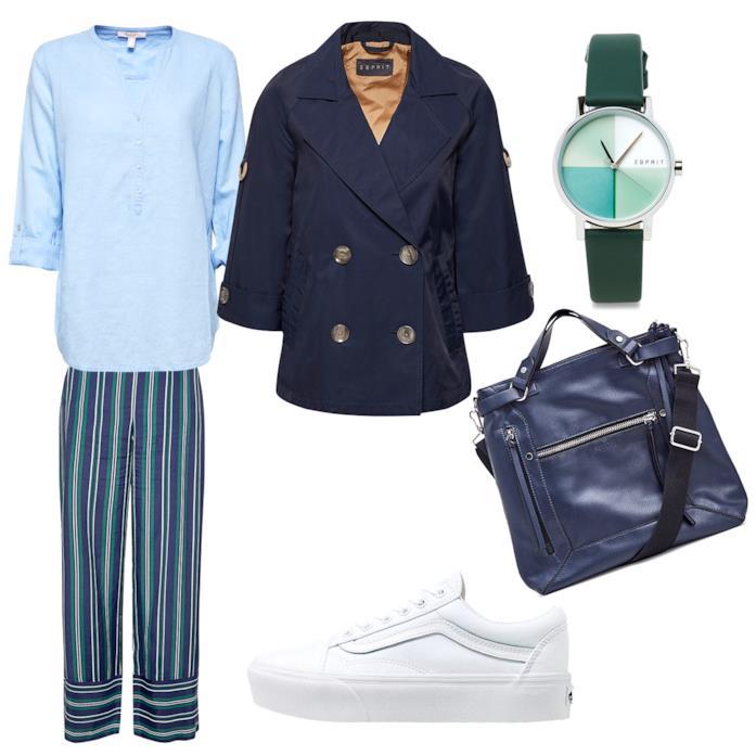 Outfit casual per la Primavera ispirato a Londra
