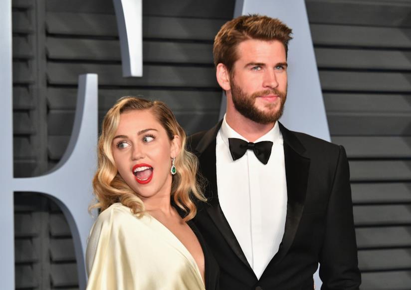 Miley Cyrus e Liam Hemswort