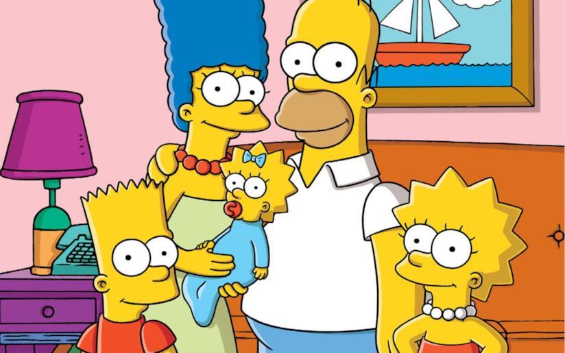I Simpson, amatissimi negli anni '90