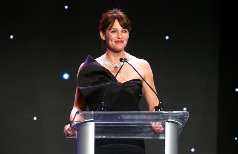 Jennifer Garner con frangetta