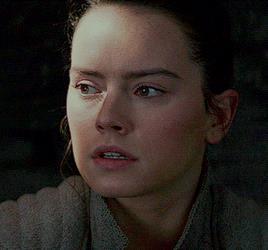 La scena in cui Rey parla a distanza con Kylo ren per la prima volta