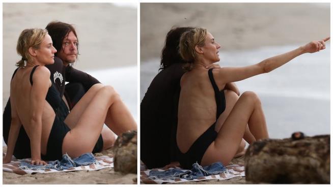 Alcuni scatti di Diane Kruger e Norman Reedus