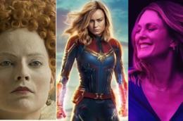 Tre protagoniste assolute al cinema: Margot Robbie, Brie Larson e Julianne Moore